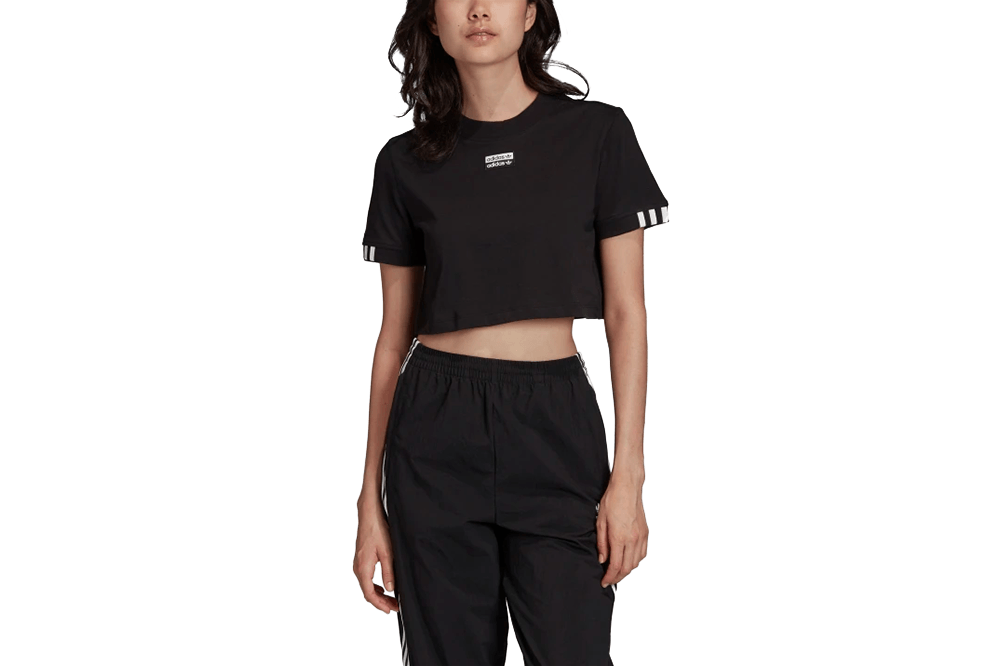 TEE CROPPED - FM2517 WOMENS SOFTGOODS ADIDAS