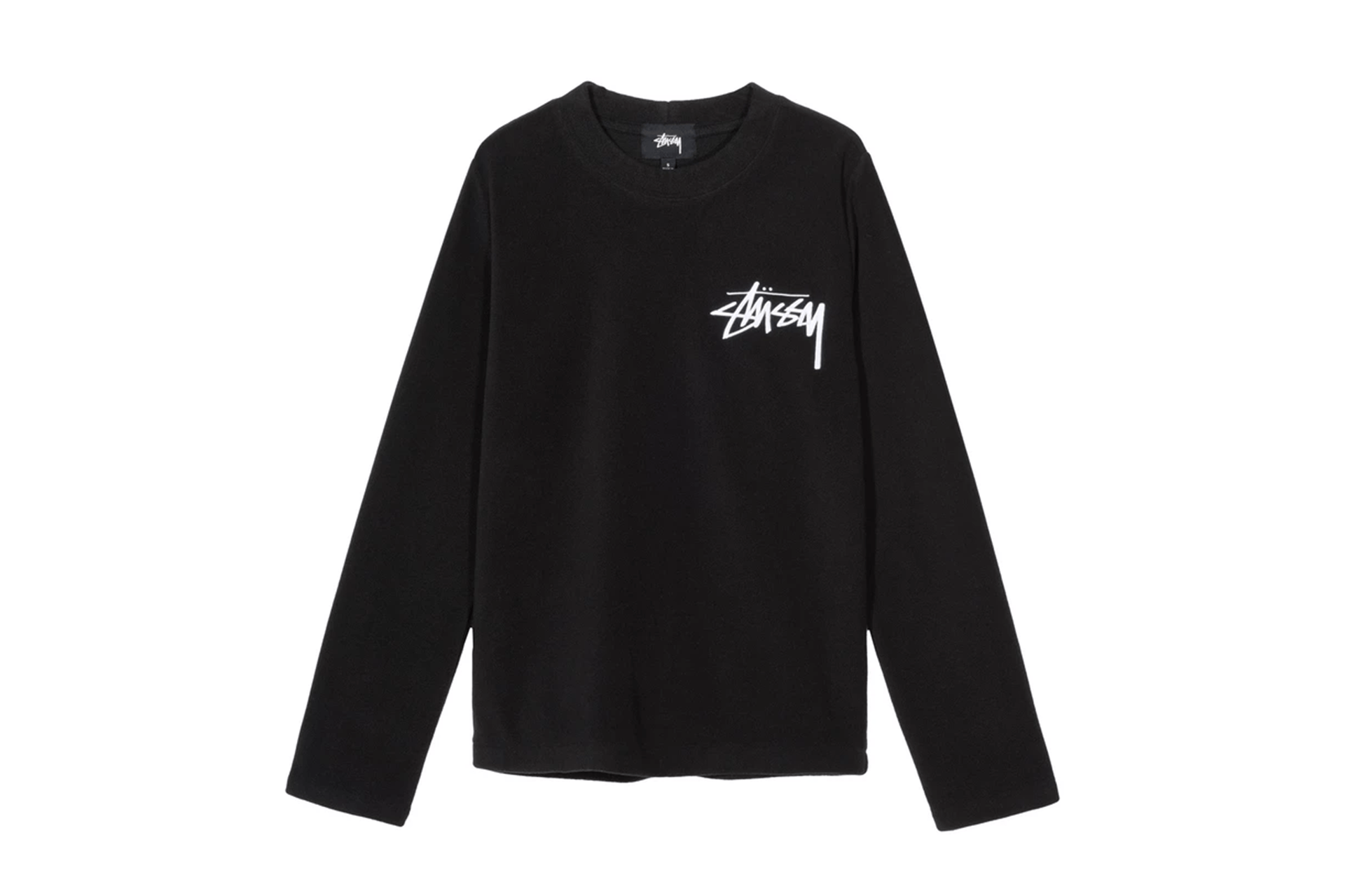 TERRA LS POLAR FLEECE - 214513 WOMENS SOFTGOODS STUSSY