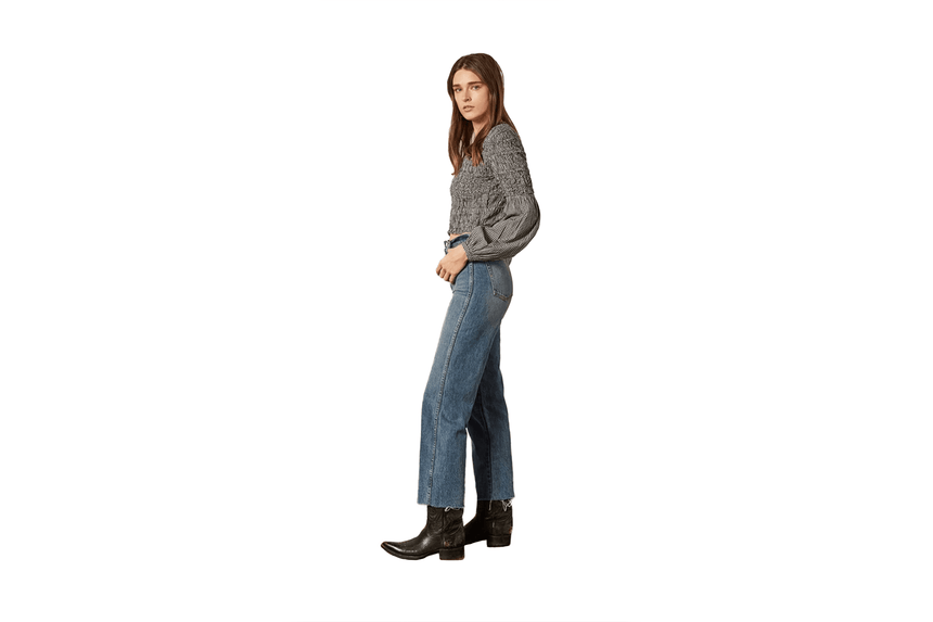 THE KIRBY VINTAGE STRAIGHT-B13RH-9029-RG124 WOMENS SOFTGOODS BOYISH JEANS