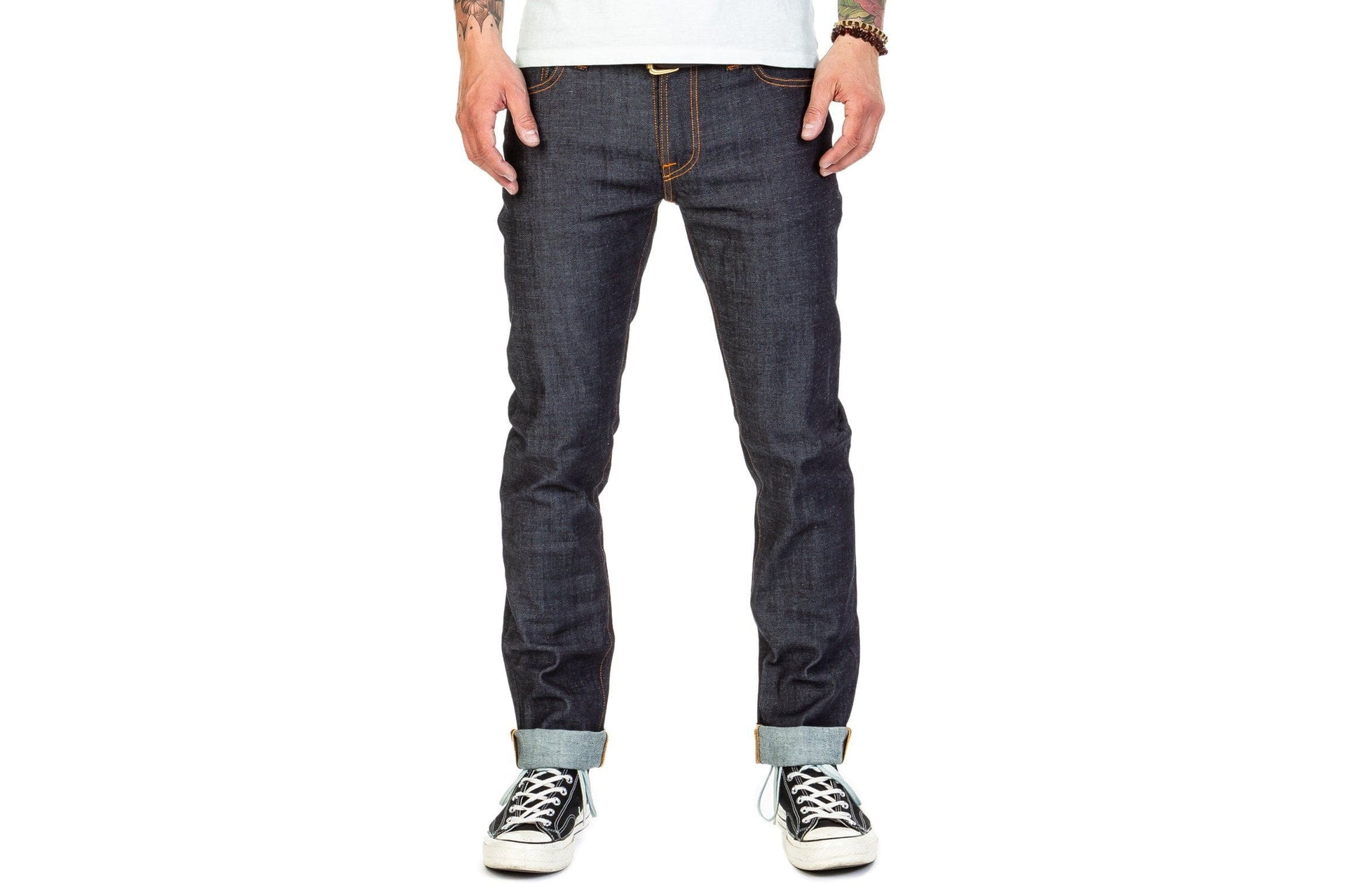 THIN FINN DRY TWILL MENS SOFTGOODS NUDIE JEANS