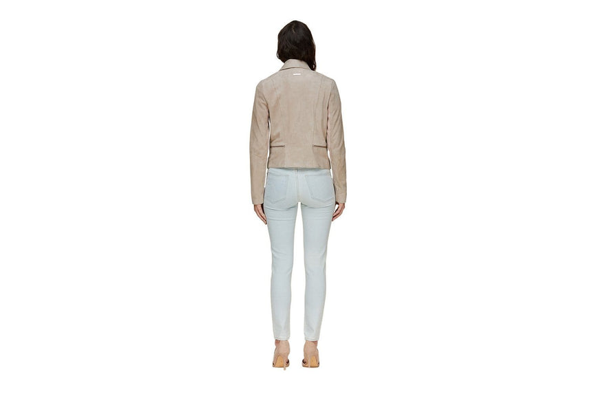 THORA - SHORT LEATHER JACKET WOMENS SOFTGOODS SOIA & KYO