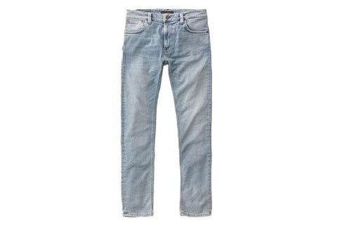 THIN FINN LIGHT BROKEN INDIGO - 113006 MENS SOFTGOODS NUDIE JEANS
