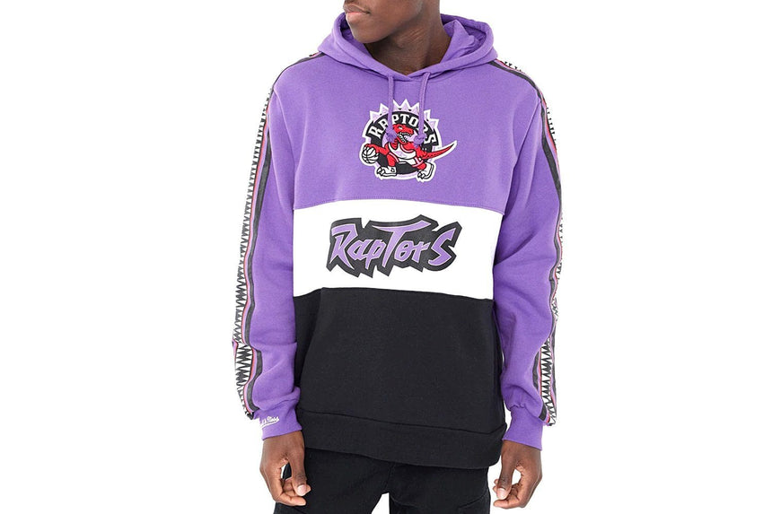 NBA RAPTORS SCORE FLEECE HOODIE-FTHD18024TRAL MENS SOFTGOODS MITCHELL & NESS