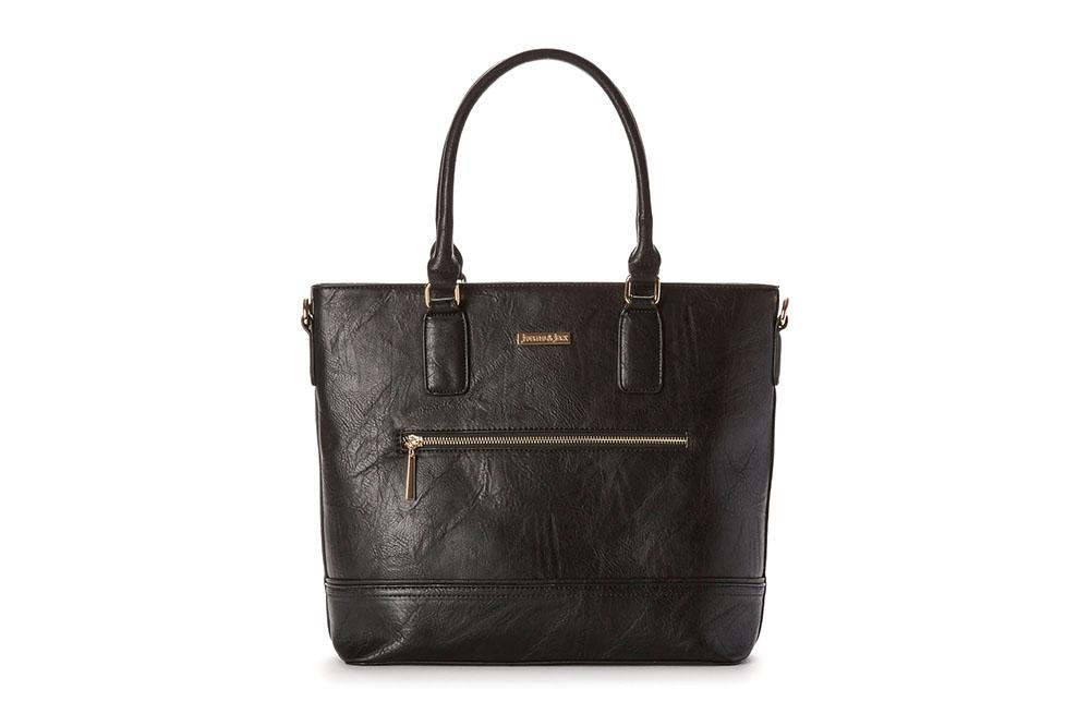 VICTORIA - FRONT ZIP TOTE - SP1905B WOMENS BAGS JEANE AND JAX