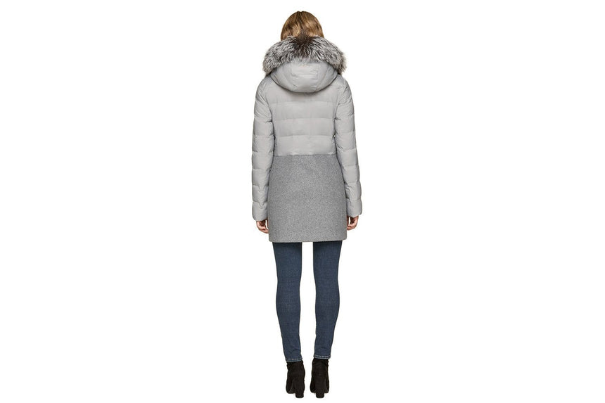 VELMA-FX LADIES MIXED MEDIA COAT WOMENS SOFTGOODS SOIA & KYO