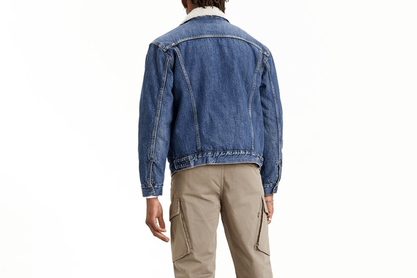 VINTAGE FIT SHERPA JACKET-791290004 MENS SOFTGOODS LEVIS