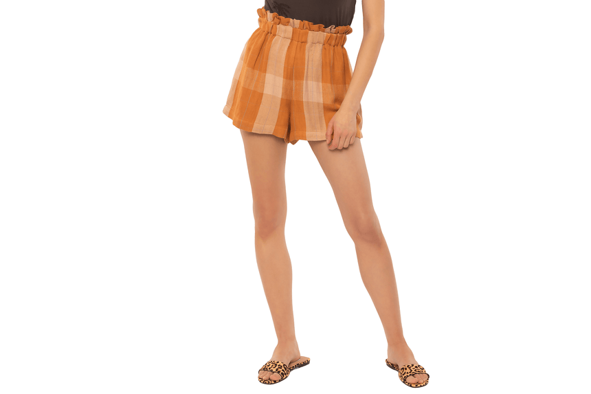 VOYAGER WOVEN SHORT-A201OVOY WOMENS SOFTGOODS AMUSE SOCIETY
