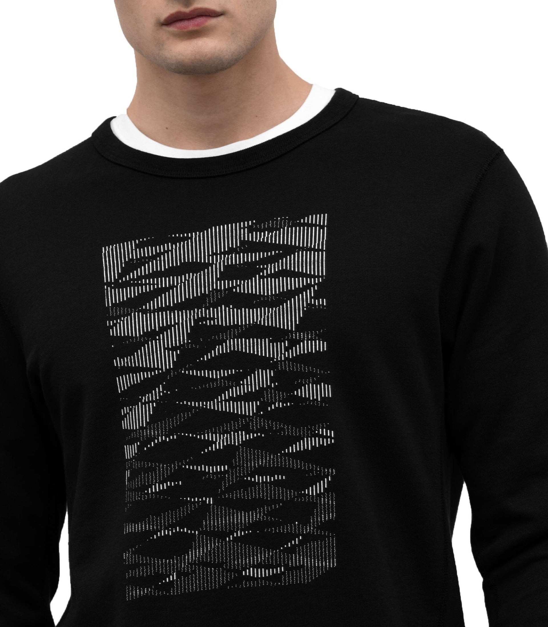 KNIT PIMA TERRY STORM 36 CREWNECK - WI-3237 MENS SOFTGOODS WINGS+HORNS