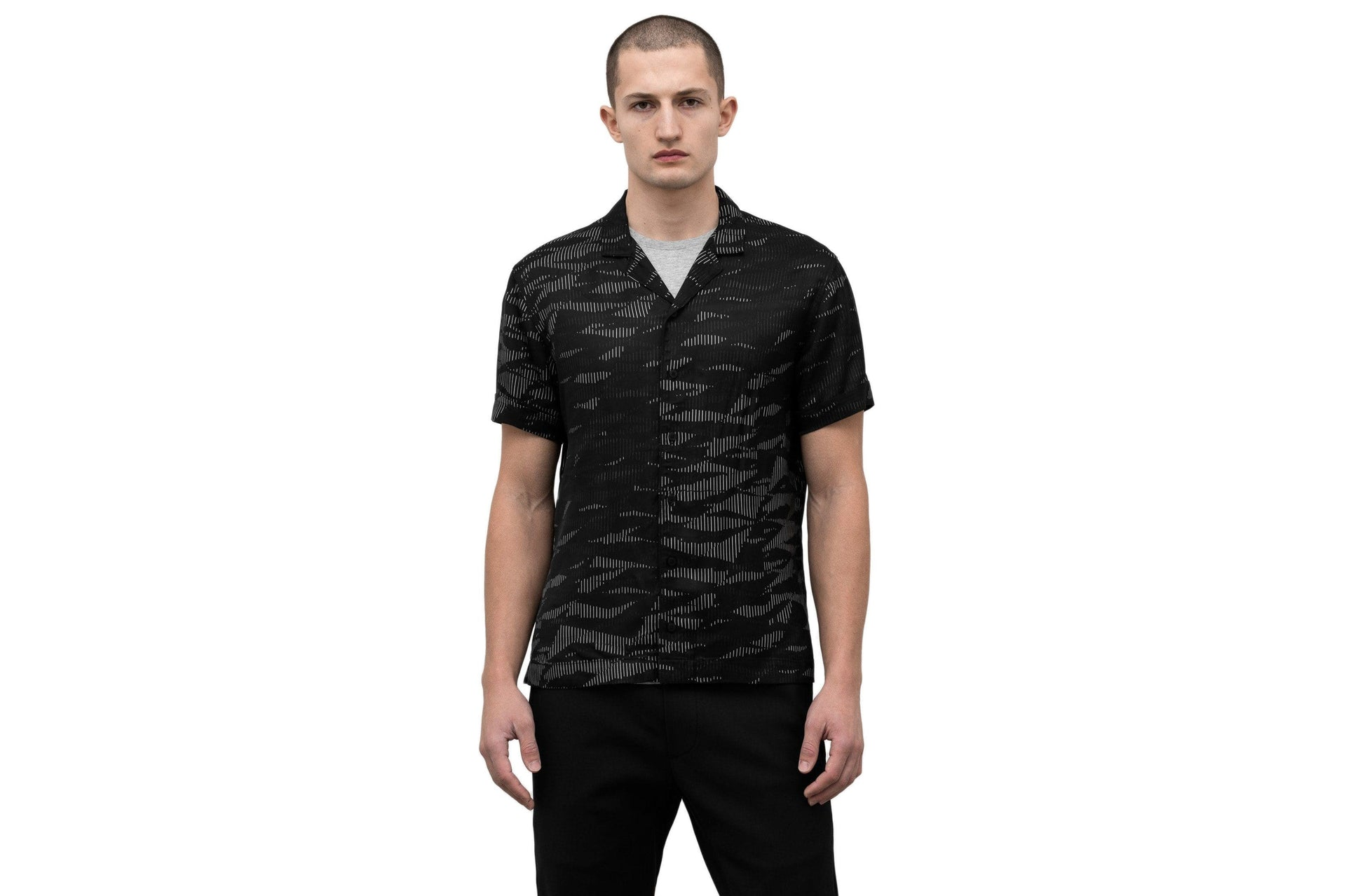 WOVEN STORM 36 DECK SHIRT - WI-8271 MENS SOFTGOODS WINGS+HORNS