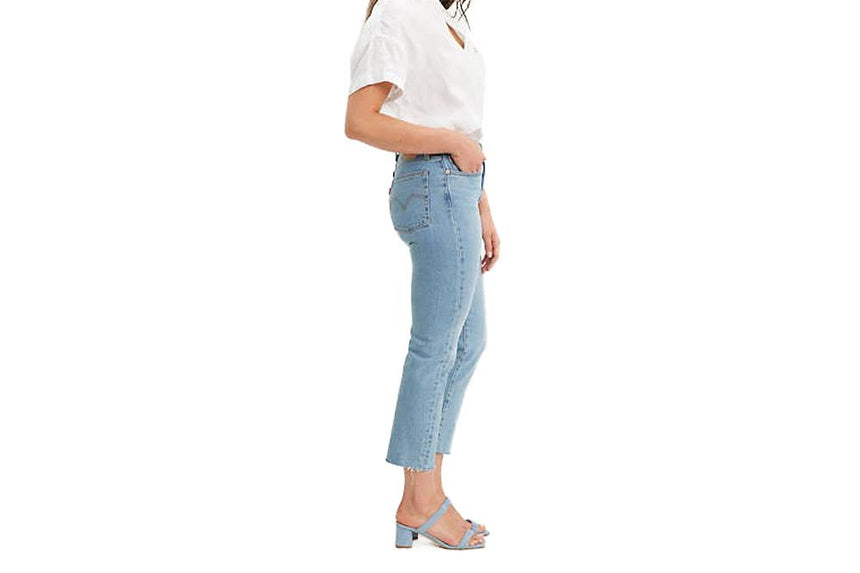 WEDGIE STRAIGHT HIGH RISE - 3496400750 WOMENS SOFTGOODS LEVIS