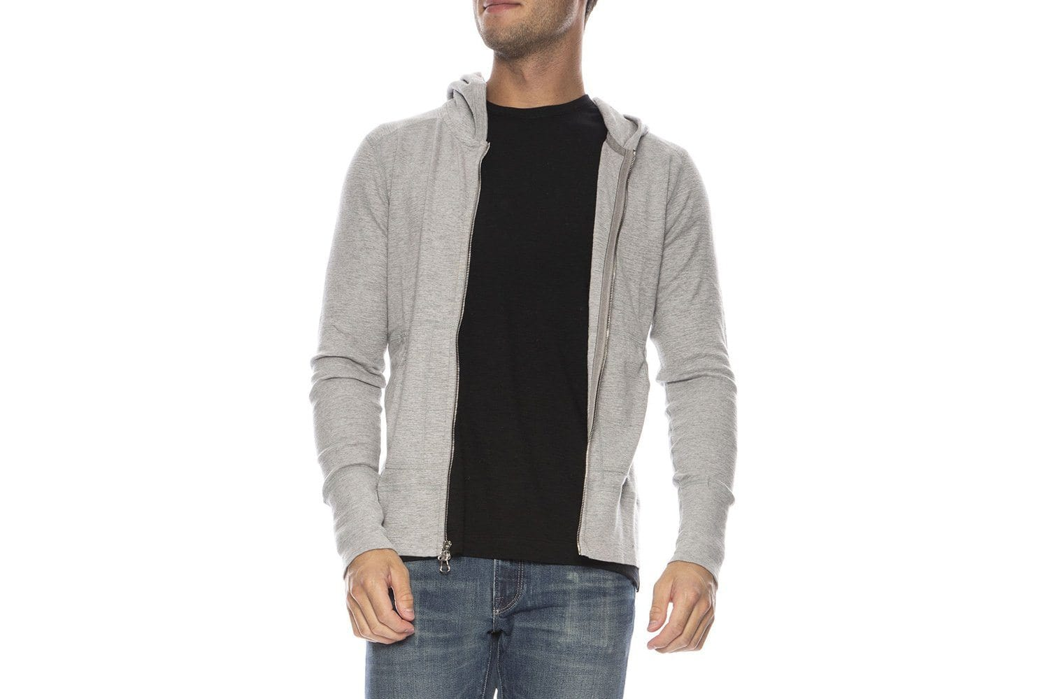 KNIT ORIGINAL ZIP HOODIE-WI3195 MENS SOFTGOODS WINGS+HORNS