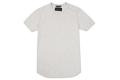 SLUB SHORT SLEEVE CREWNECK