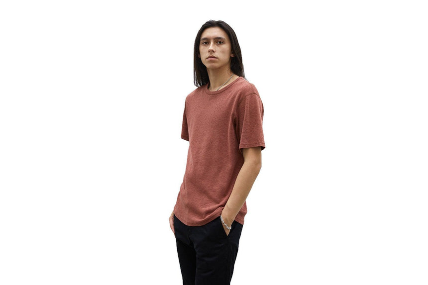 KNIT 1X1 SLUB STANDARD SHORT SLEEVE - WI-1172 MENS SOFTGOODS WINGS+HORNS