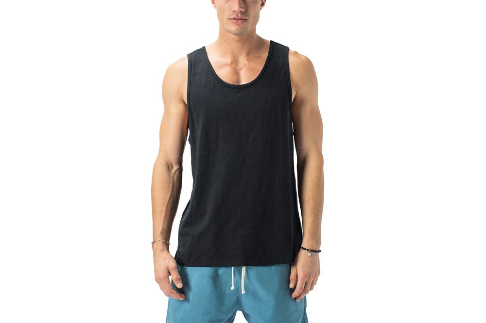 SLUB RUGGER TANK - 137-WORD MENS SOFTGOODS ZANEROBE