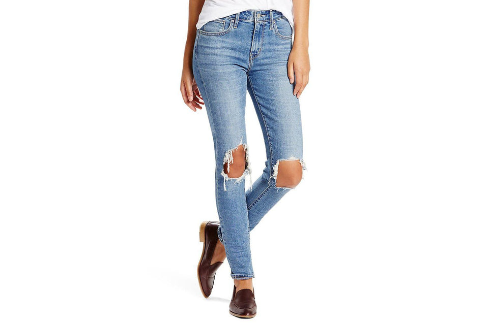 LEVI'S 721 HIGH RISE SKINNY RUGGED IN WOMENS SOFTGOODS LEVIS
