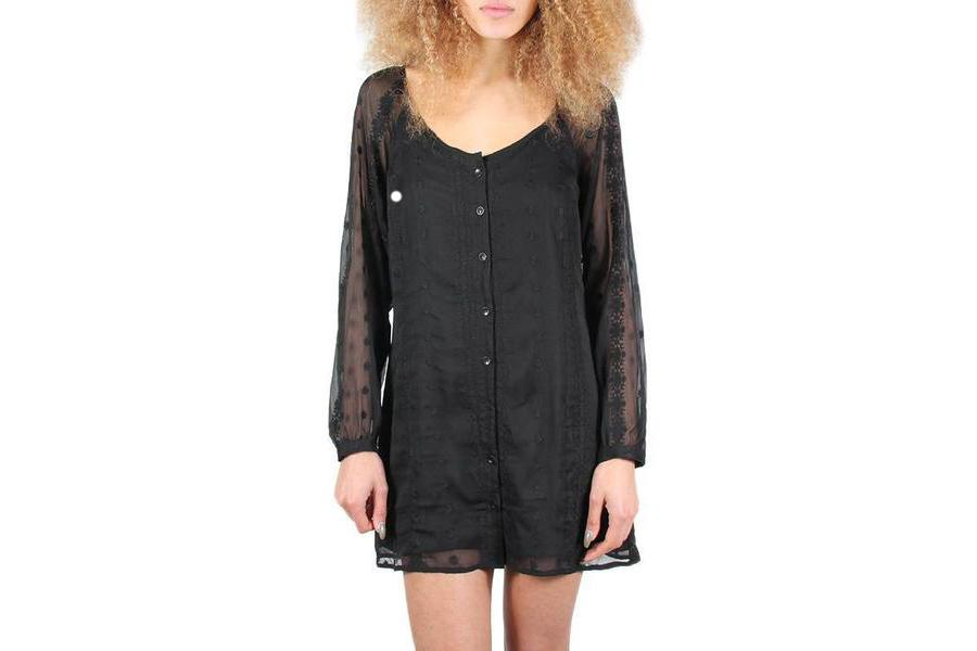 BLOOD MOON DRESS WOMENS SOFTGOODS OBEY BLACK S