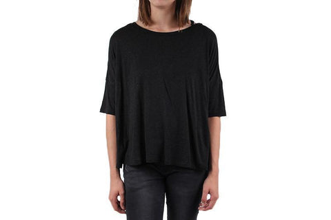 AVERY KNIT TOP WOMENS SOFTGOODS AMUSE SOCIETY BLACK SAND S