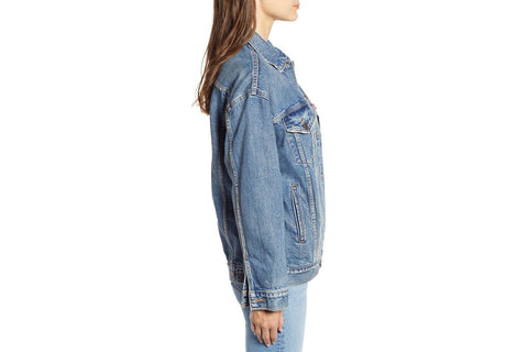BAGGY TRUCKER JACKET - 399565
