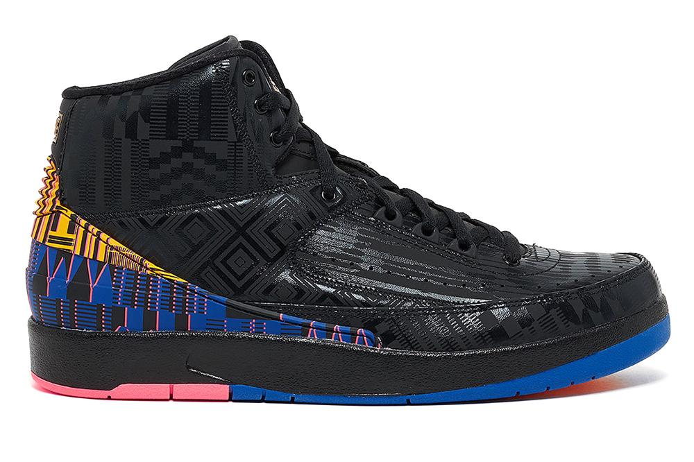 AIR JORDAN 2 RETRO BHM - BQ7618-007 MENS FOOTWEAR JORDAN
