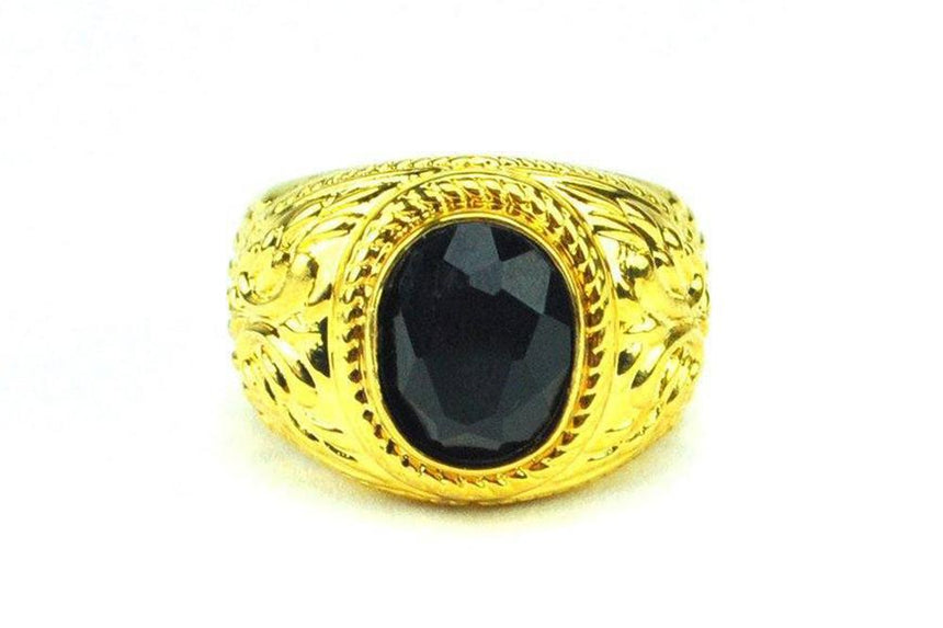 AURA ONYX RING - GONYXRING JEWELRY THE GOLD GODS
