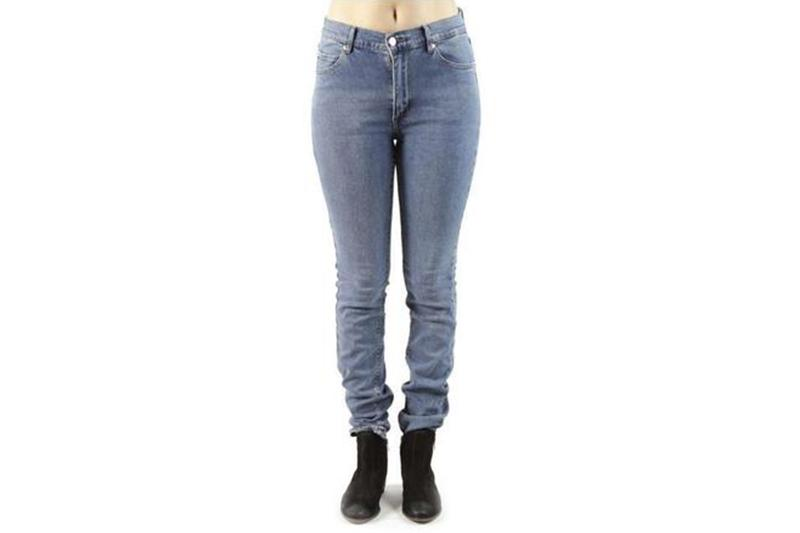 SECOND SKIN DENIM WOMENS SOFTGOODS CHEAP MONDAY BLUE WASH 30/32