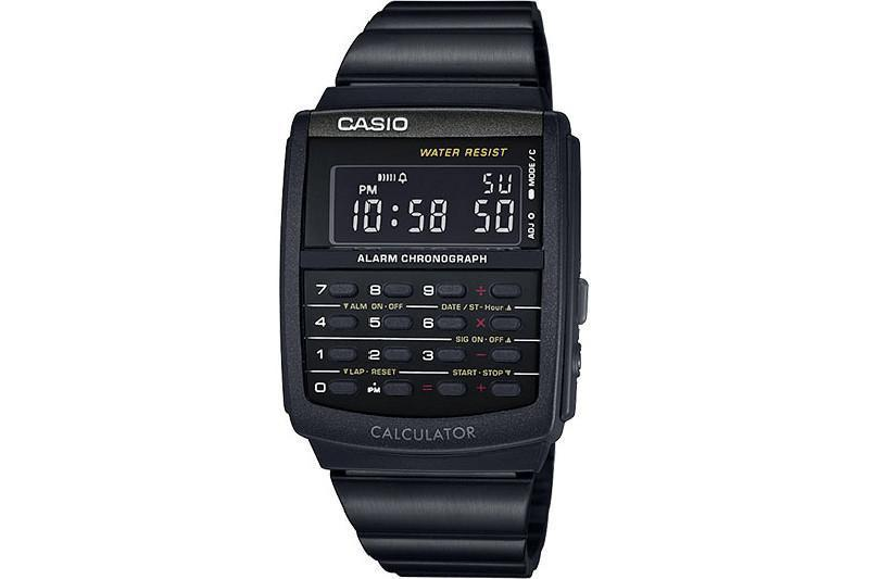CA506B-1AVT WATCHES CASIO BLACK ONE SIZE