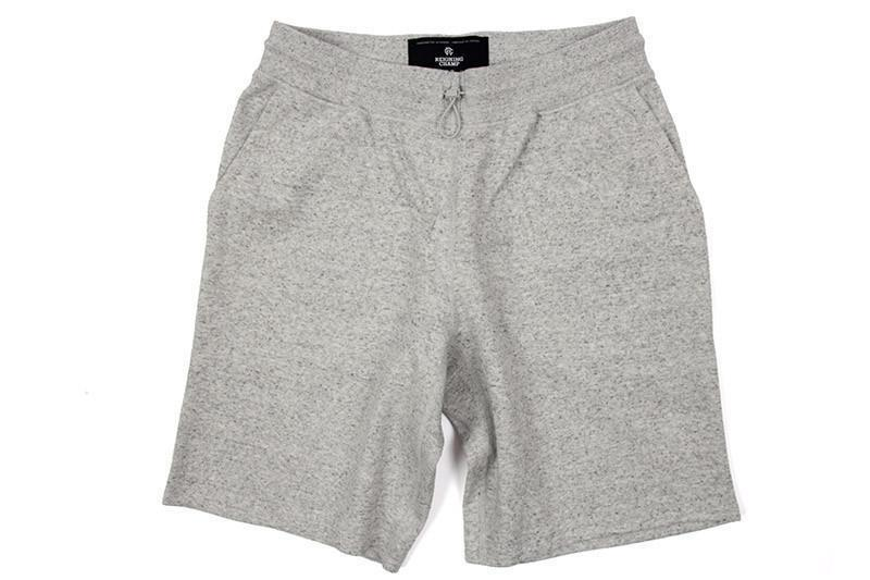 BONDED TERRY SHORT MENS SOFTGOODS REIGNING CHAMP H.GREY M