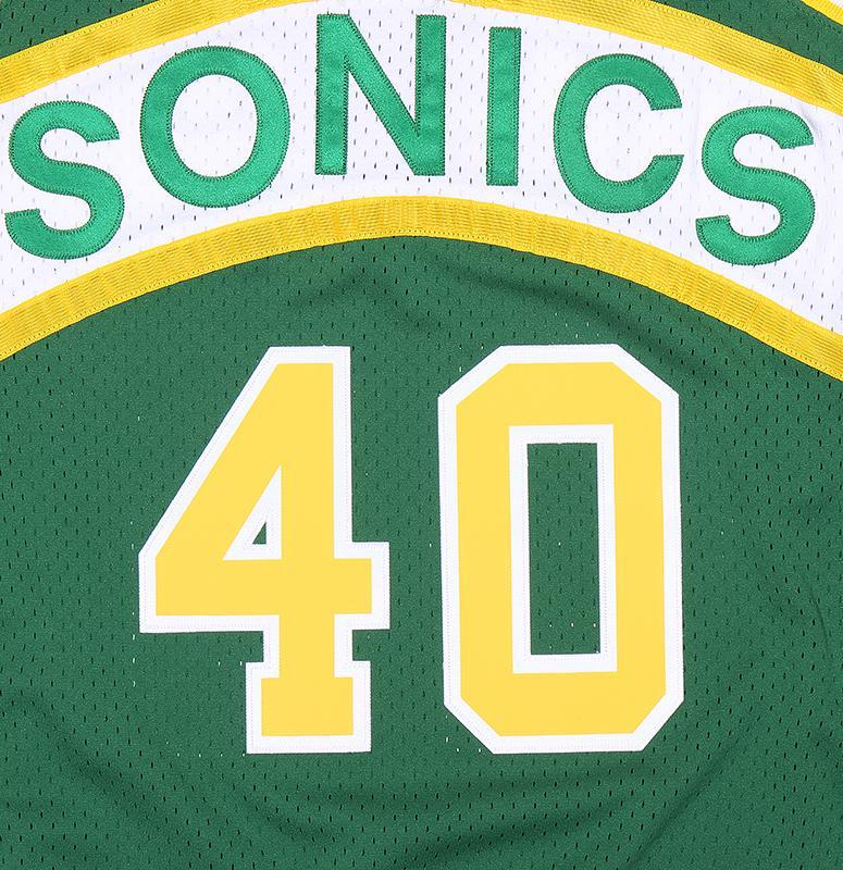 NBA SUPERSONICS SHAWN KEMP MENS SOFTGOODS MITCHELL & NESS