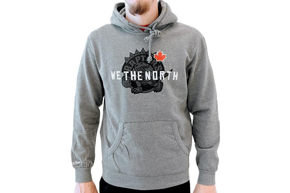 NBA RAPTORS 'WE THE NORTH' HOODIE MENS SOFTGOODS MITCHELL & NESS