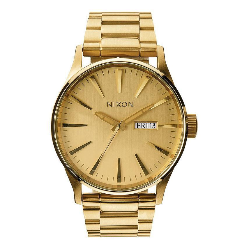 SENTRY SS/ALL GOLD WATCHES NIXON ALL GOLD ONE SIZE