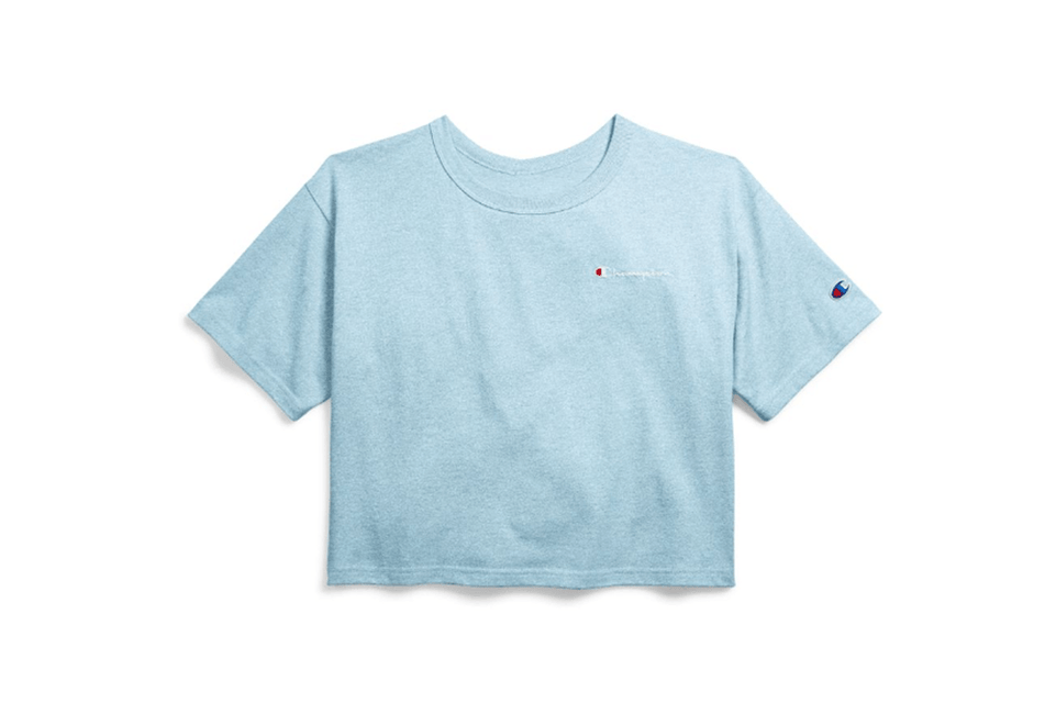 CROP TEE - WL956 WOMENS SOFTGOODS CHAMPION
