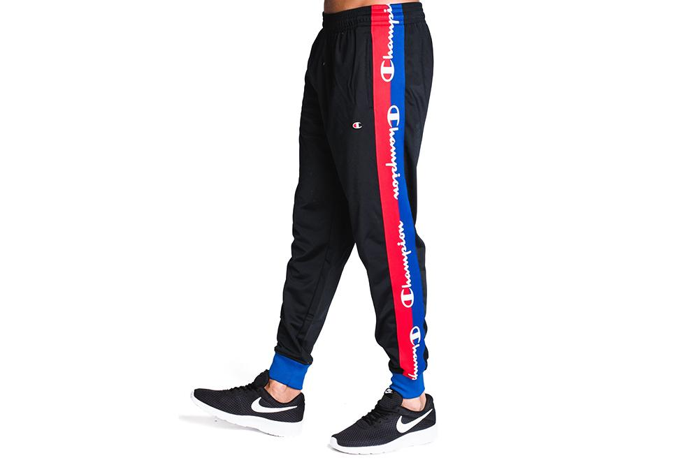 TRICOT TRACK PANT WITH CHAMPION TAPING-P3378 MENS SOFTGOODS CHAMPION