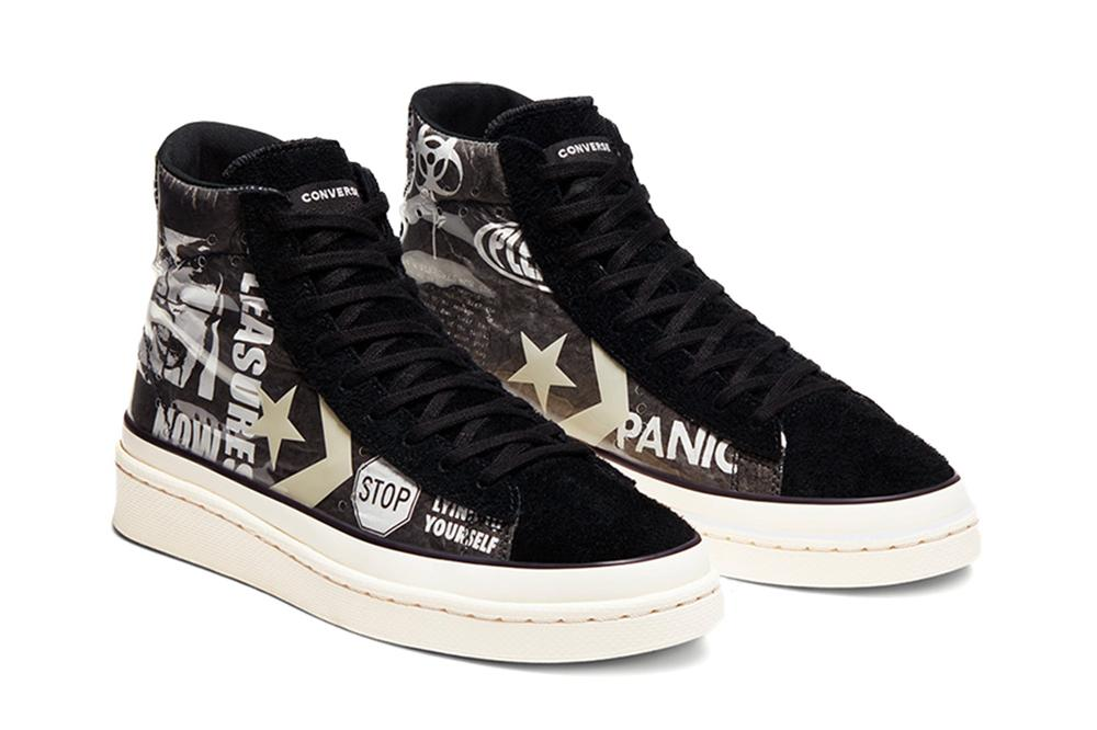 PLEASURES x PRO LEATHER MID - 164602C MENS SOFTGOODS CONVERSE