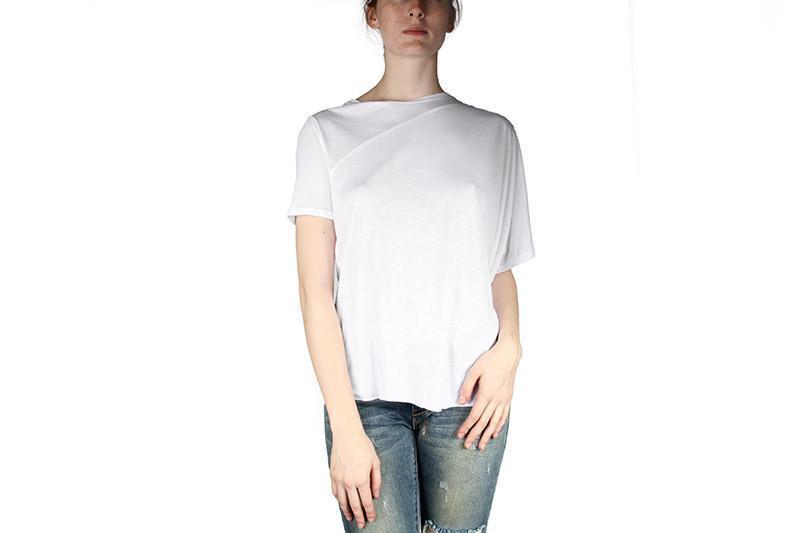 MISTAKE TOP WOMENS SOFTGOODS CHEAP MONDAY WHITE XS