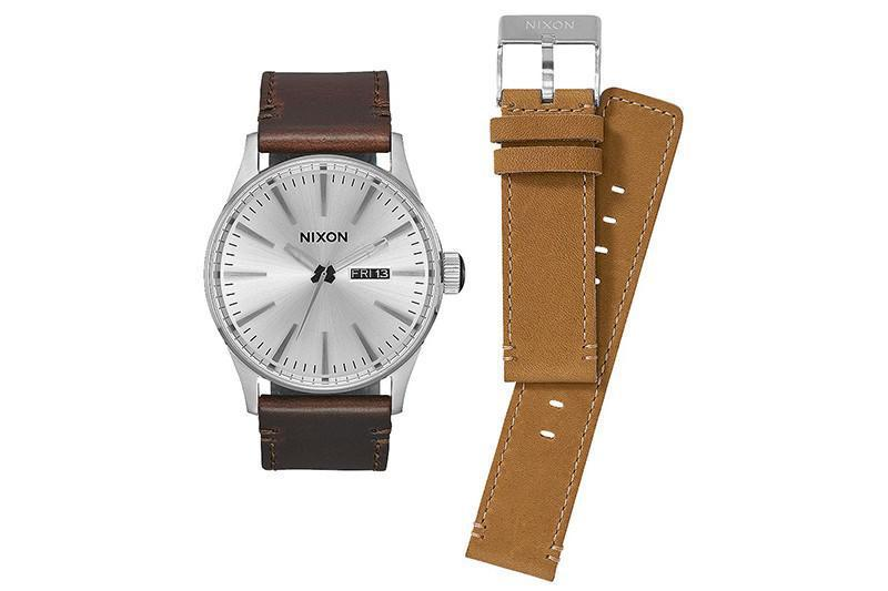 SENTRY PACK - WHITE/BROWN/TAN WATCHES NIXON white/BROWN/TAN ONE SIZE