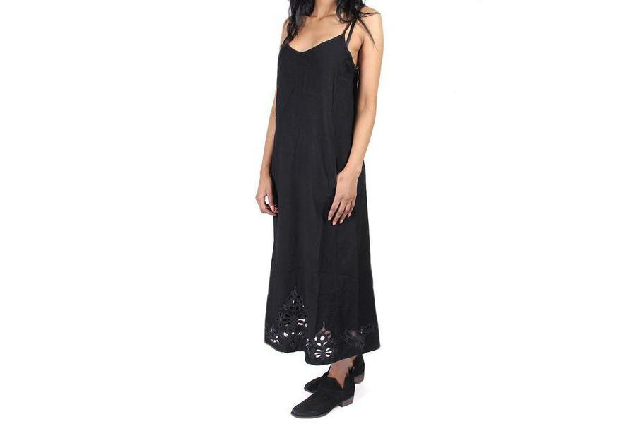 VICIOUS DRESS WOMENS SOFTGOODS OBEY BLACK S