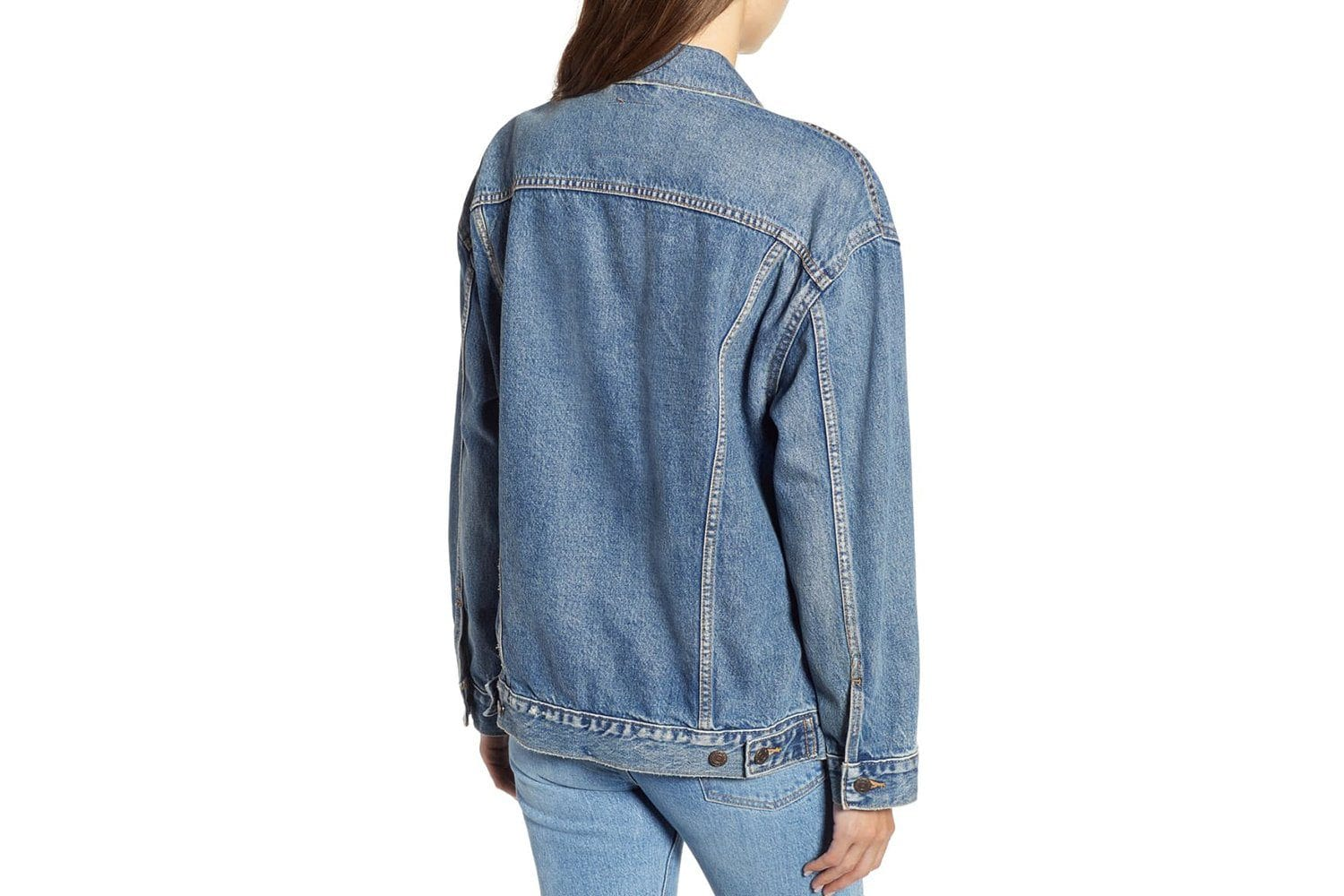 BAGGY TRUCKER JACKET - 399565 WOMENS SOFTGOODS LEVIS