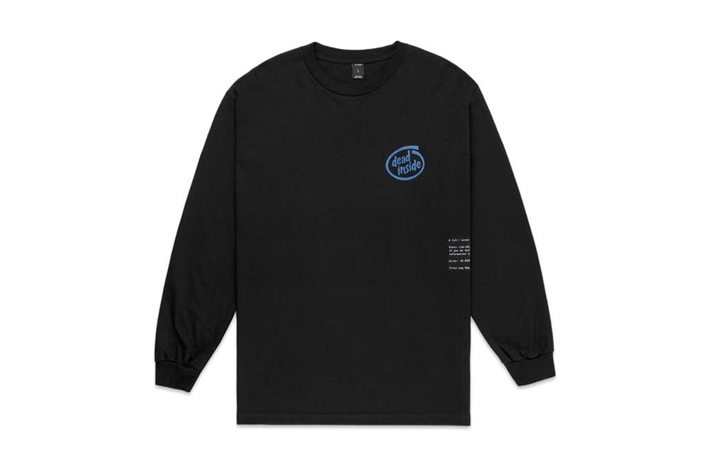 DEAD INSIDE L/S - 192TD4112 MENS SOFTGOODS 10 DEEP