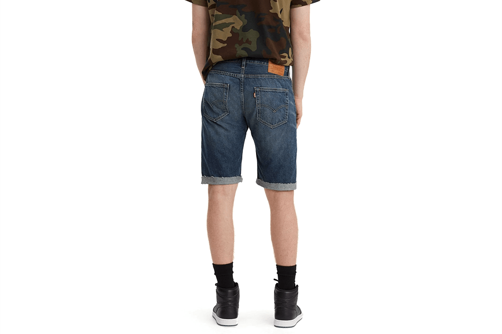 ORIGINAL CUTOFF SHORTS SOUR PATCH - 501 MENS SOFTGOODS LEVIS