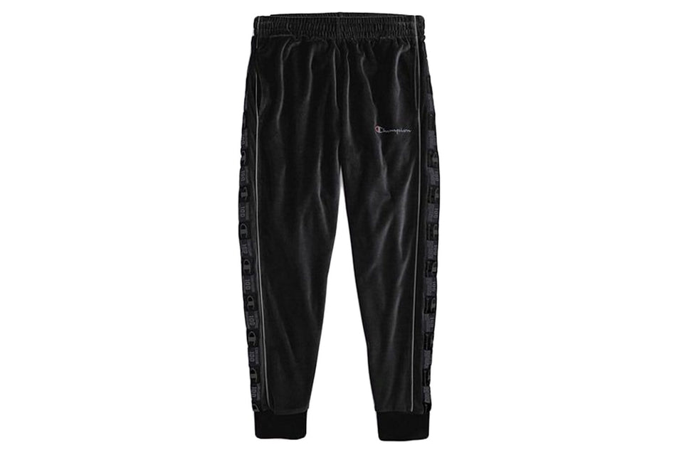 VELOUR TRACK PANT-P4454 MENS SOFTGOODS CHAMPION