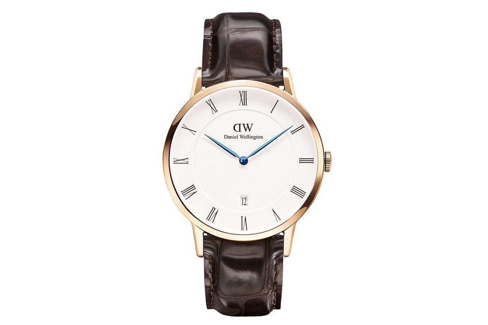 DAPPER YORK ROSE GOLD WATCHES DANIEL WELLINGTON ROSE GOLD 38MM 1102DW