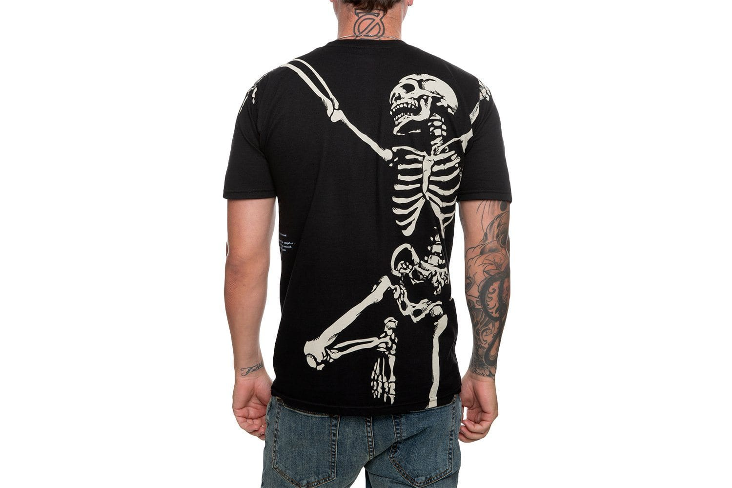 DEAD INSIDE TEE - 192TD4312 MENS SOFTGOODS 10 DEEP