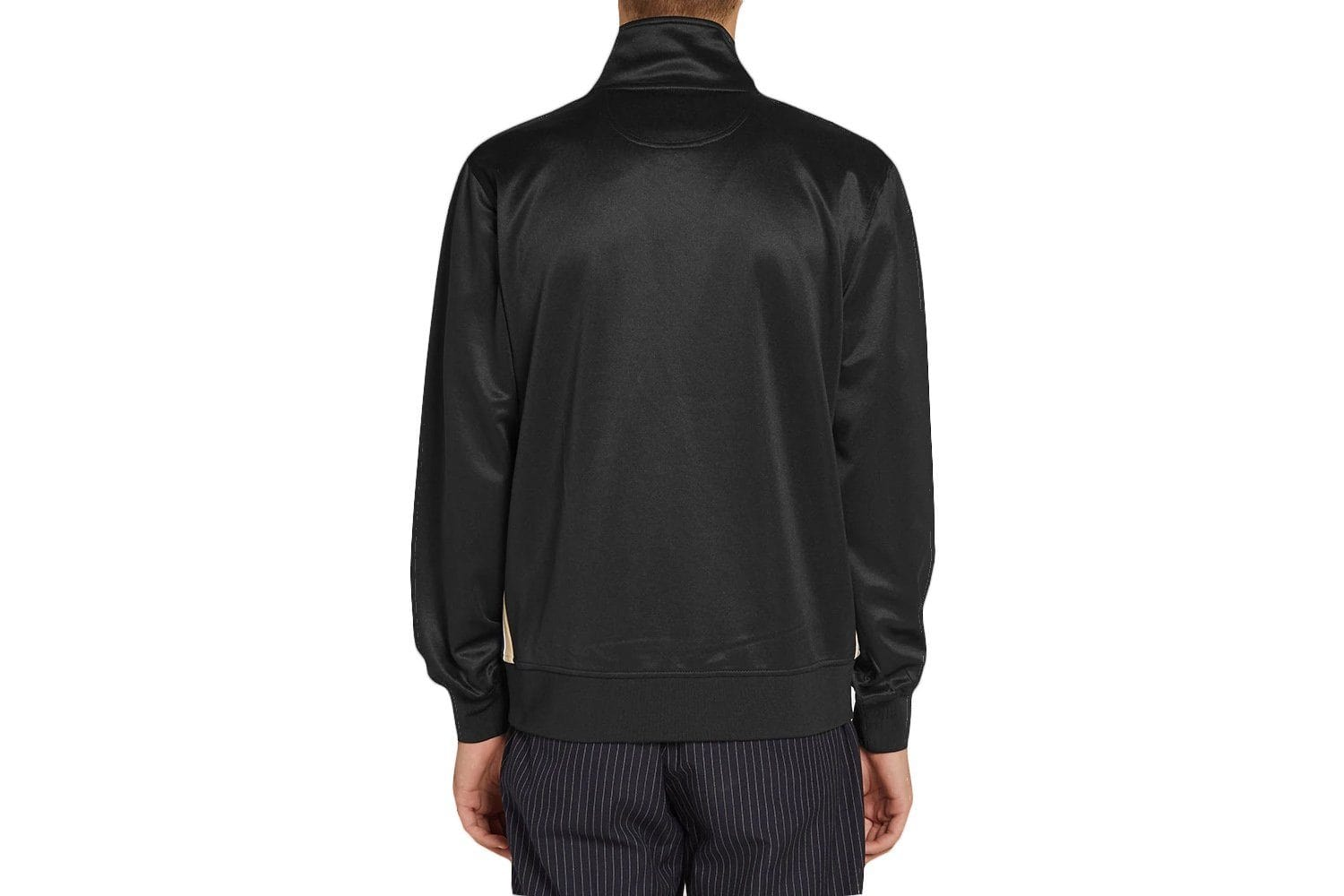 TEXTURED RIB TRACK JACKET - 115414 MENS SOFTGOODS STUSSY