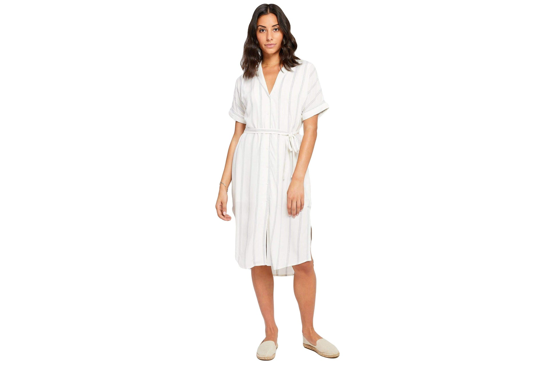 KAYSEY - GF190-8386 WOMENS SOFTGOODS GENTLEFAWN WHITE NOMAD STRIPE XS