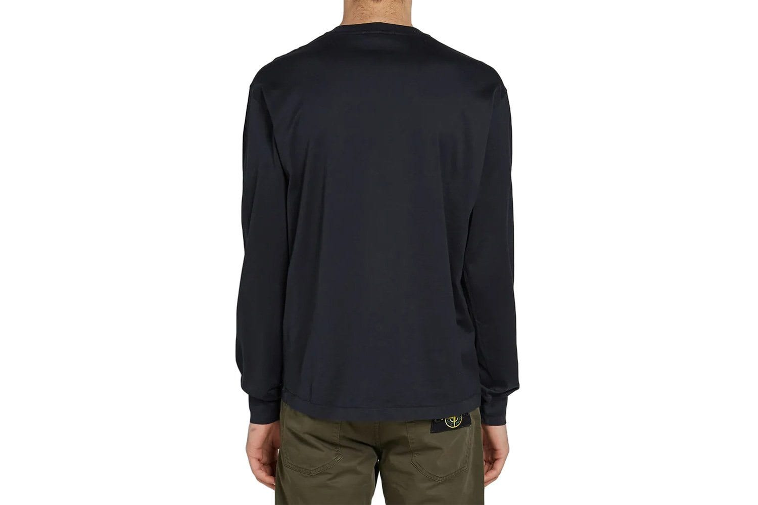 61bb7fd9 SMALL PATCH LONG SLEEVE TEE - MO701522713. STONE ISLAND