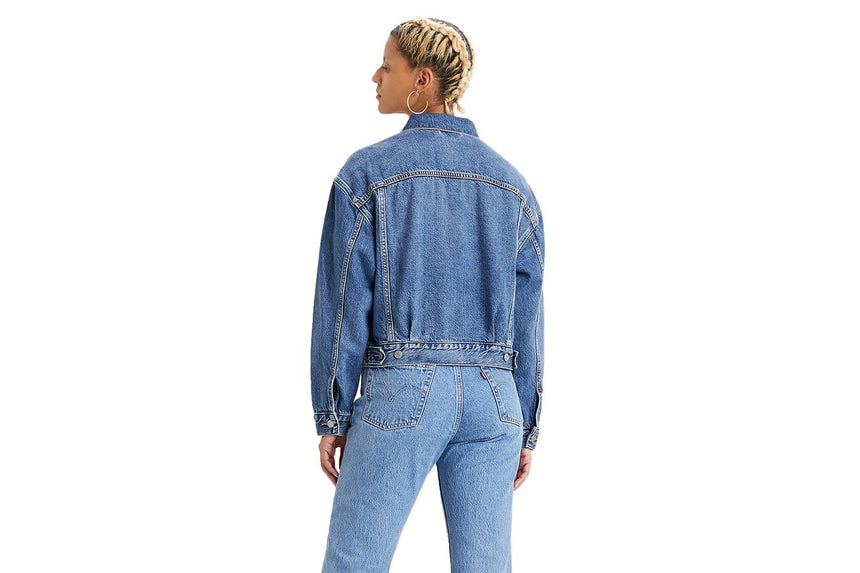 NEW HERITAGE TRUCKER - 367570000 WOMENS SOFTGOODS LEVIS