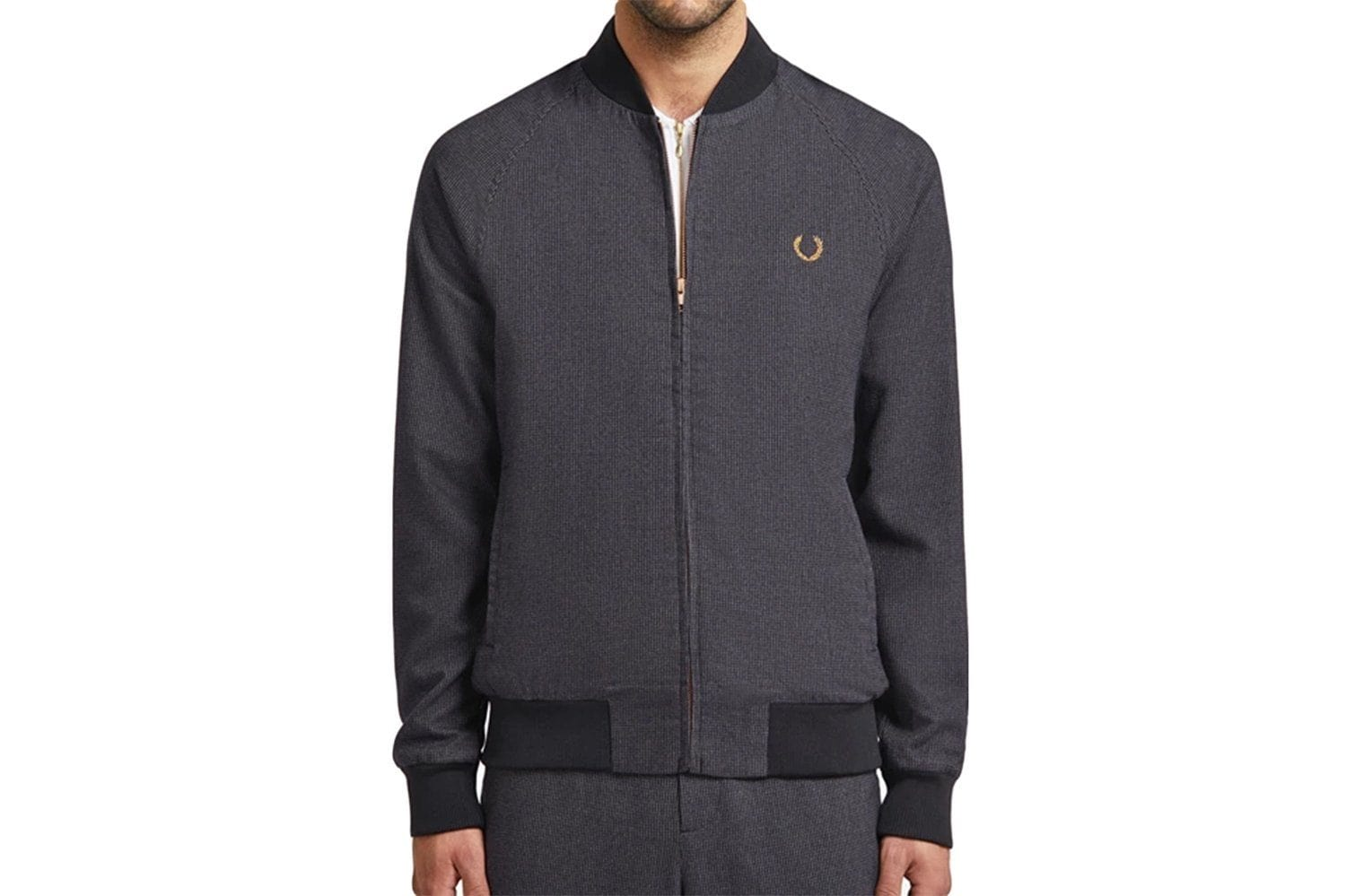 BOMBER JACKET MILES KANE-SJ7006 MENS SOFTGOODS FRED PERRY