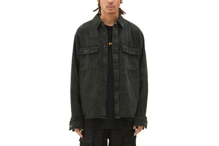 FREQUENCY CAMO LS SHIRT- MENS SOFTGOODS KSUBI