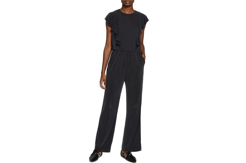 LETO JUMPSUIT WOMENS SOFTGOODS JUST FEMALE BLACK XS 10654