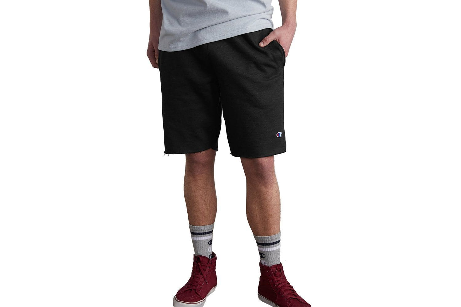 REVERSE WEAVE CUT OFF SHORT - 89597 MENS SOFTGOODS CHAMPION